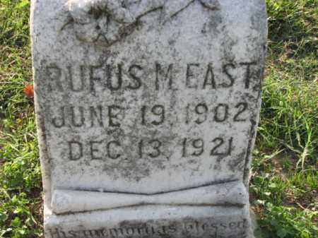 EAST, RUFUS M. - Poinsett County, Arkansas | RUFUS M. EAST - Arkansas Gravestone Photos