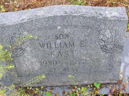 EAST, WILLIAM E - Poinsett County, Arkansas | WILLIAM E EAST - Arkansas Gravestone Photos