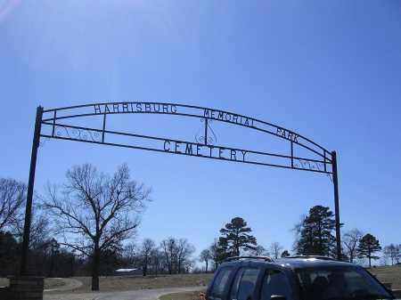 HARRISBURG, ENTRANCE - Poinsett County, Arkansas | ENTRANCE HARRISBURG - Arkansas Gravestone Photos