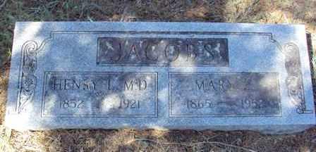 JACOBS, HENRY L. (MD) - Poinsett County, Arkansas | HENRY L. (MD) JACOBS - Arkansas Gravestone Photos