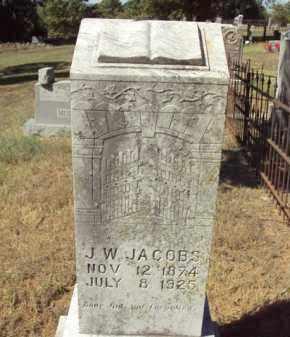 JACOBS, J.W. - Poinsett County, Arkansas | J.W. JACOBS - Arkansas Gravestone Photos