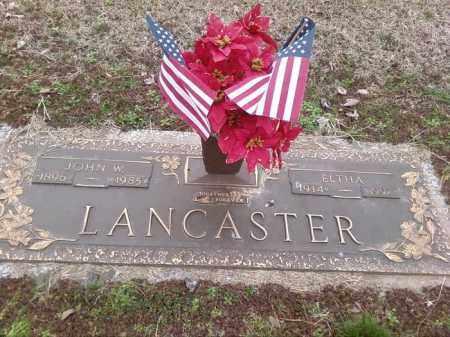 LANCASTER, JOHN W - Poinsett County, Arkansas   JOHN W LANCASTER - Arkansas Gravestone Photos