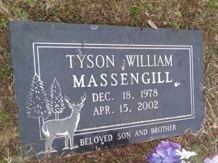 MASSENGILL, TYSON WILLIAM - Poinsett County, Arkansas | TYSON WILLIAM MASSENGILL - Arkansas Gravestone Photos