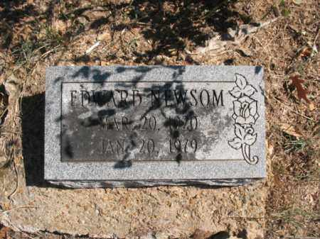 NEWSOM, EDWARD - Poinsett County, Arkansas | EDWARD NEWSOM - Arkansas Gravestone Photos