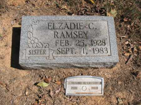 RAMSEY, ELZADIE C - Poinsett County, Arkansas | ELZADIE C RAMSEY - Arkansas Gravestone Photos