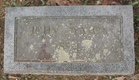 RYASON, JOHN - Poinsett County, Arkansas   JOHN RYASON - Arkansas Gravestone Photos