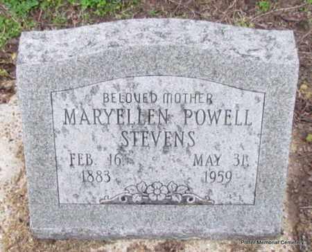 STEVENS, MARYELLEN - Poinsett County, Arkansas   MARYELLEN STEVENS - Arkansas Gravestone Photos