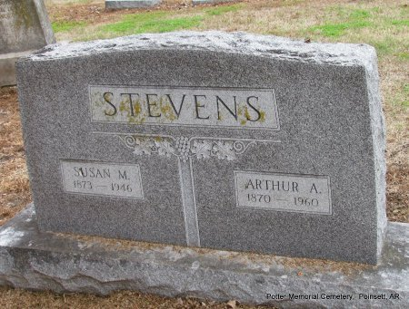 STEVENS, ARTHUR A - Poinsett County, Arkansas | ARTHUR A STEVENS - Arkansas Gravestone Photos