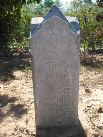 STONE, MARY F - Poinsett County, Arkansas | MARY F STONE - Arkansas Gravestone Photos