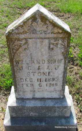 STONE, WILLIAM D - Poinsett County, Arkansas   WILLIAM D STONE - Arkansas Gravestone Photos