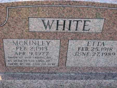 WHITE, ETTA - Poinsett County, Arkansas   ETTA WHITE - Arkansas Gravestone Photos
