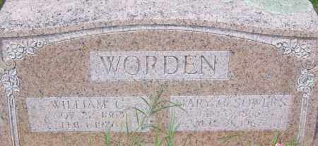 SOWERS WORDEN, MARY CATHERINE - Poinsett County, Arkansas | MARY CATHERINE SOWERS WORDEN - Arkansas Gravestone Photos