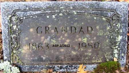 UNKNOWN, GRANDAD - Polk County, Arkansas   GRANDAD UNKNOWN - Arkansas Gravestone Photos