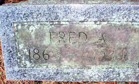 SMITH, FRED A - Polk County, Arkansas | FRED A SMITH - Arkansas Gravestone Photos