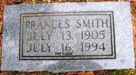 SMITH, FRANCES - Polk County, Arkansas | FRANCES SMITH - Arkansas Gravestone Photos