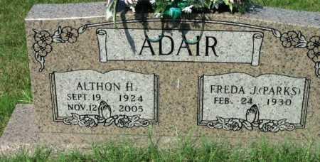ADAIR, ALTHON H. - Polk County, Arkansas   ALTHON H. ADAIR - Arkansas Gravestone Photos