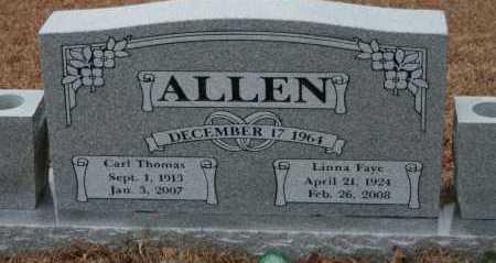 ALLEN, LINNA FAYE - Polk County, Arkansas | LINNA FAYE ALLEN - Arkansas Gravestone Photos