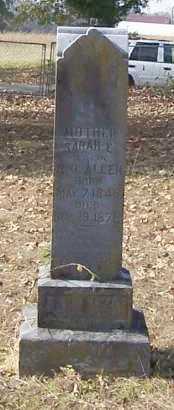 ALLEN, SARAH E - Polk County, Arkansas   SARAH E ALLEN - Arkansas Gravestone Photos