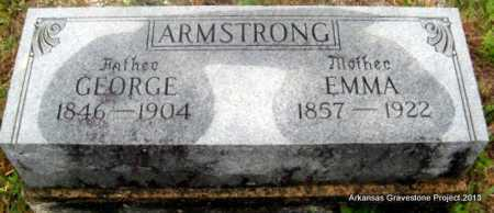 ALBRIGHT ARMSTRONG, EMMA FRANCES - Polk County, Arkansas | EMMA FRANCES ALBRIGHT ARMSTRONG - Arkansas Gravestone Photos