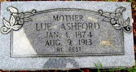 ASHFORD, LUE - Polk County, Arkansas   LUE ASHFORD - Arkansas Gravestone Photos