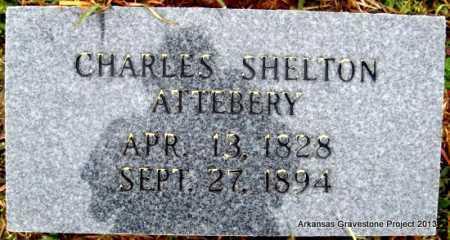ATTEBERY, CHARLES SHELTON - Polk County, Arkansas | CHARLES SHELTON ATTEBERY - Arkansas Gravestone Photos