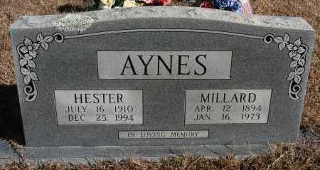 AYNES, MILLARD - Polk County, Arkansas | MILLARD AYNES - Arkansas Gravestone Photos