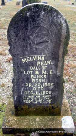 BANKS, MELVINA PEARL - Polk County, Arkansas | MELVINA PEARL BANKS - Arkansas Gravestone Photos