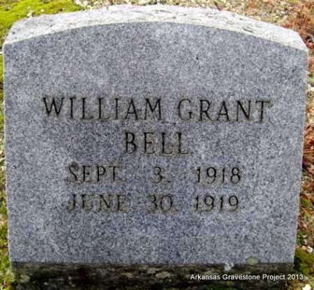 BELL, WILLIAM GRANT - Polk County, Arkansas   WILLIAM GRANT BELL - Arkansas Gravestone Photos