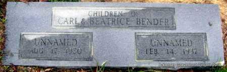 BENDER, UNNAMED - Polk County, Arkansas | UNNAMED BENDER - Arkansas Gravestone Photos