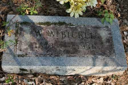 BICKLE, W.W. - Polk County, Arkansas   W.W. BICKLE - Arkansas Gravestone Photos
