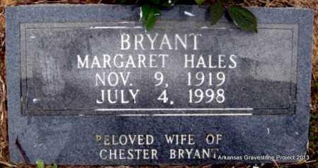 HALES BRYANT, LUCY MARGARET - Polk County, Arkansas   LUCY MARGARET HALES BRYANT - Arkansas Gravestone Photos