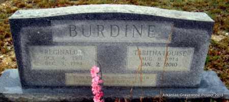 BURDINE, TABITHA LOUISE - Polk County, Arkansas | TABITHA LOUISE BURDINE - Arkansas Gravestone Photos