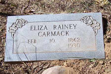 RAINEY CARMACK, ELIZA - Polk County, Arkansas   ELIZA RAINEY CARMACK - Arkansas Gravestone Photos