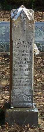 CECIL, BLANCHE LOUISE - Polk County, Arkansas   BLANCHE LOUISE CECIL - Arkansas Gravestone Photos