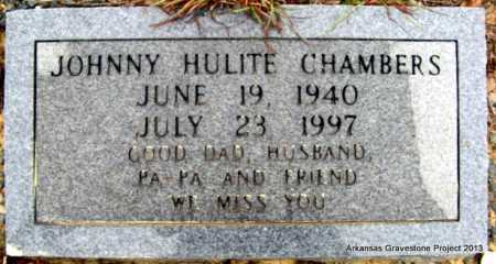CHAMBERS, JOHNNY HULITE - Polk County, Arkansas | JOHNNY HULITE CHAMBERS - Arkansas Gravestone Photos