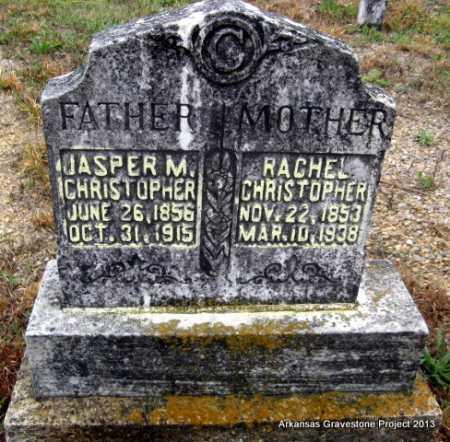 CHRISTOPHER, JASPER MERIDETH - Polk County, Arkansas | JASPER MERIDETH CHRISTOPHER - Arkansas Gravestone Photos