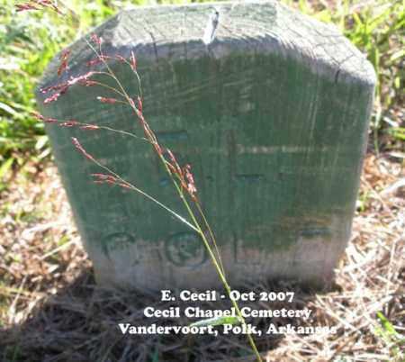 COLE, E. L. - Polk County, Arkansas | E. L. COLE - Arkansas Gravestone Photos