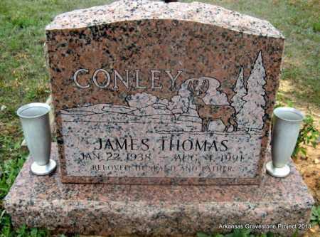 CONLEY, JAMES THOMAS - Polk County, Arkansas | JAMES THOMAS CONLEY - Arkansas Gravestone Photos