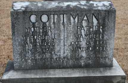 COTTMAN, MARGRET J. - Polk County, Arkansas | MARGRET J. COTTMAN - Arkansas Gravestone Photos