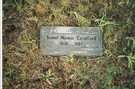 CRAWFORD, SAMUEL MONROE - Polk County, Arkansas | SAMUEL MONROE CRAWFORD - Arkansas Gravestone Photos