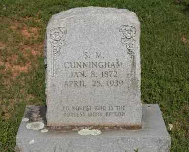 CUNNINGHAM, S. M. - Polk County, Arkansas | S. M. CUNNINGHAM - Arkansas Gravestone Photos