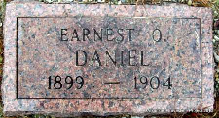 DANIEL, EARNEST O - Polk County, Arkansas | EARNEST O DANIEL - Arkansas Gravestone Photos