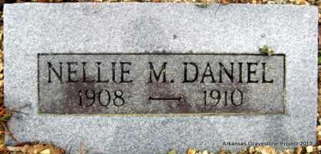 DANIEL, NELLIE M - Polk County, Arkansas | NELLIE M DANIEL - Arkansas Gravestone Photos