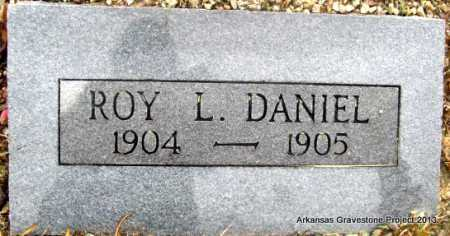 DANIEL, ROY L - Polk County, Arkansas   ROY L DANIEL - Arkansas Gravestone Photos