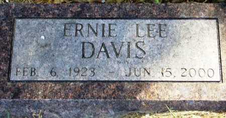 DAVIS, ERNIE LEE - Polk County, Arkansas   ERNIE LEE DAVIS - Arkansas Gravestone Photos