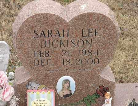 DICKISON, SARAH LEE - Polk County, Arkansas   SARAH LEE DICKISON - Arkansas Gravestone Photos