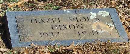 DIXON, HAZEL VIOLA - Polk County, Arkansas   HAZEL VIOLA DIXON - Arkansas Gravestone Photos