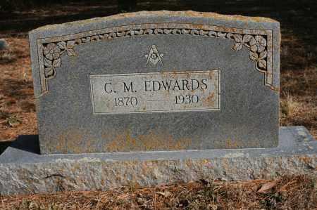 EDWARDS, CHARLES M - Polk County, Arkansas   CHARLES M EDWARDS - Arkansas Gravestone Photos