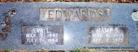 EDWARDS, EVA L - Polk County, Arkansas   EVA L EDWARDS - Arkansas Gravestone Photos