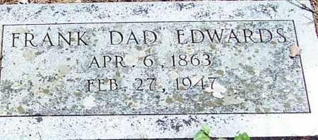 "EDWARDS, FRANK ""DAD"" - Polk County, Arkansas | FRANK ""DAD"" EDWARDS - Arkansas Gravestone Photos"